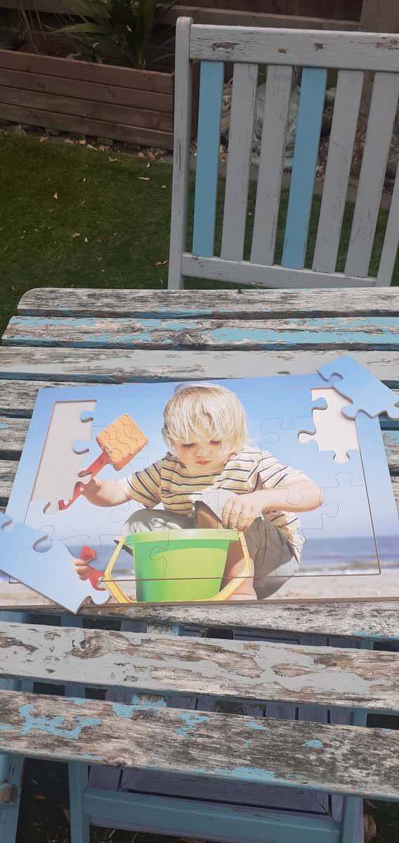 Fun at the Seaside – jigsaw puzzle for dementia