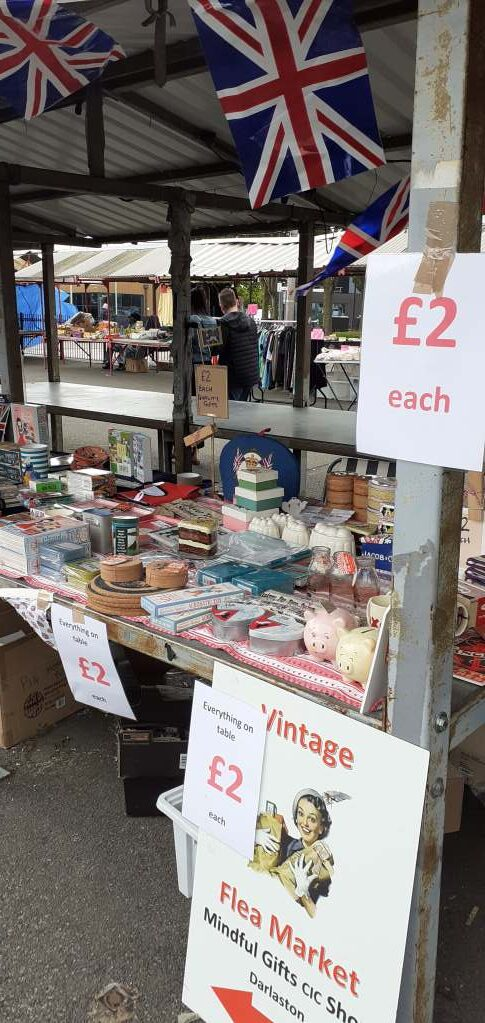 Mindful Gifts Cic are on Wednesbury market today!