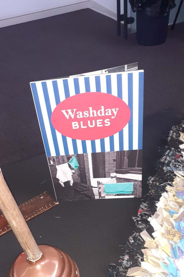 Washday Blues book included in the Reminiscence Boxes launched by the Black Country Living Museum