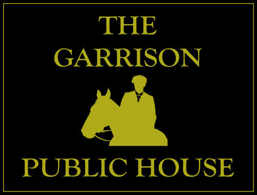 The Garrison Pub Sign for Peaky Blinders fans!