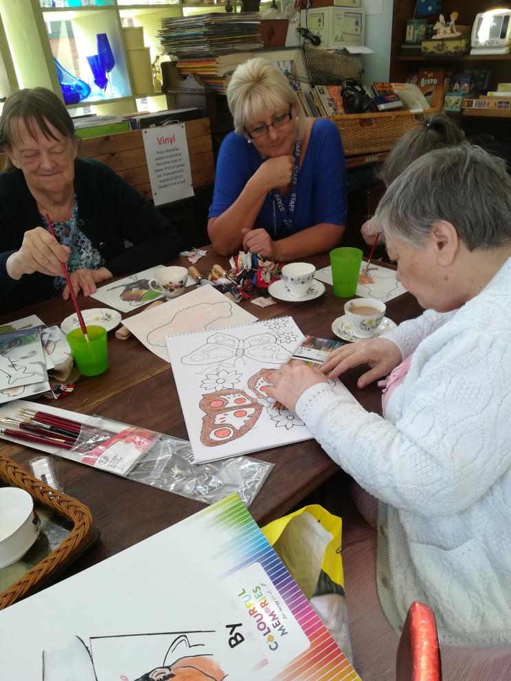 Art and Rag Rugging Activities