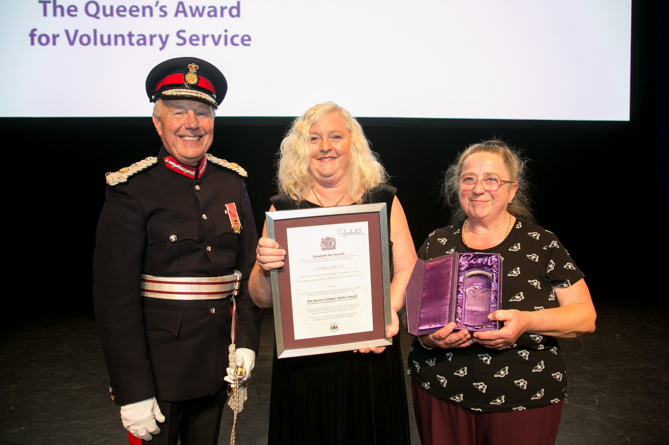 Mindful Gifts Receiving Queen's Award for Voluntary Service