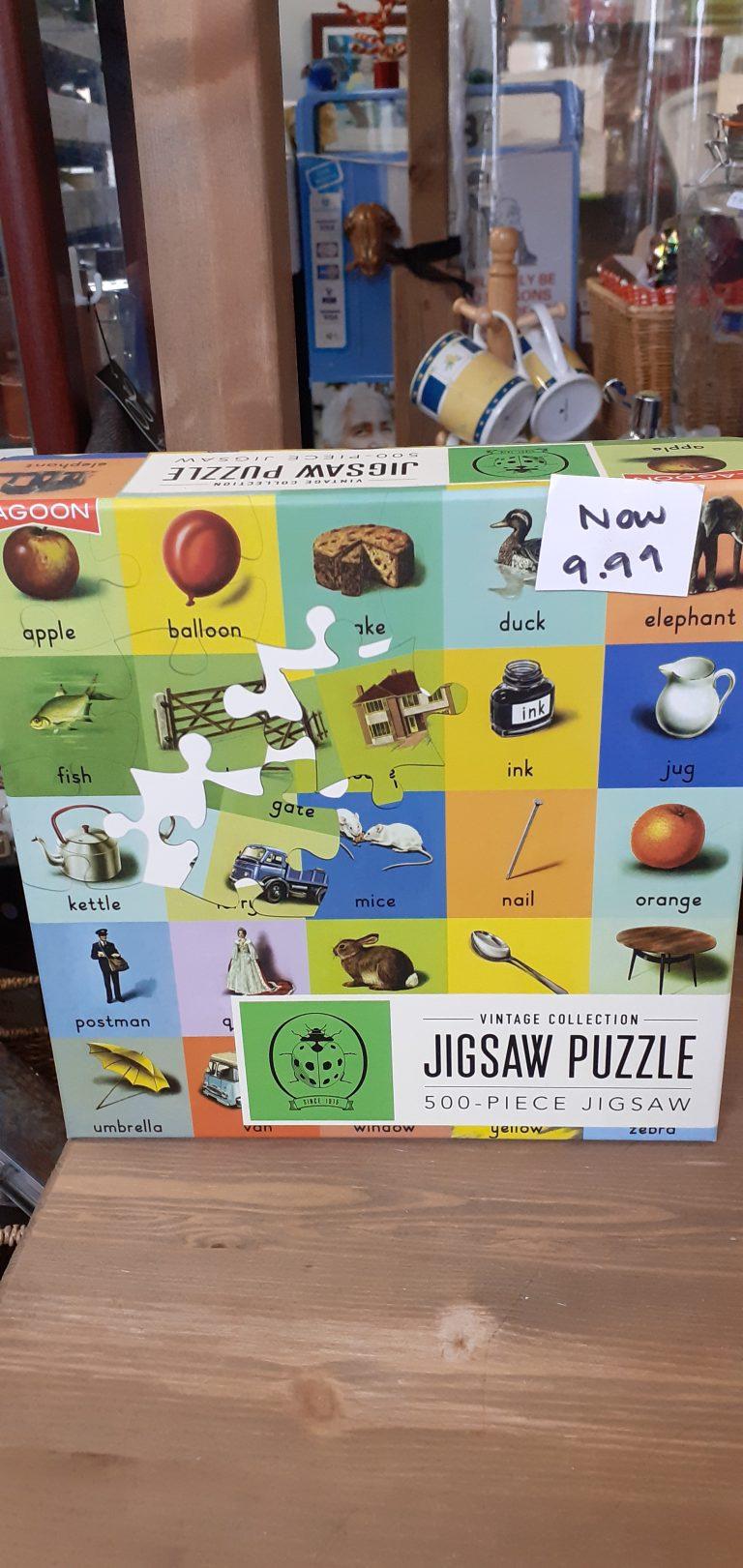 Jigsaws available
