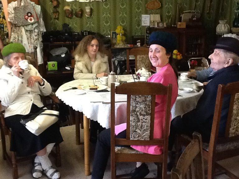 Care home enjoys 'teas and memories'